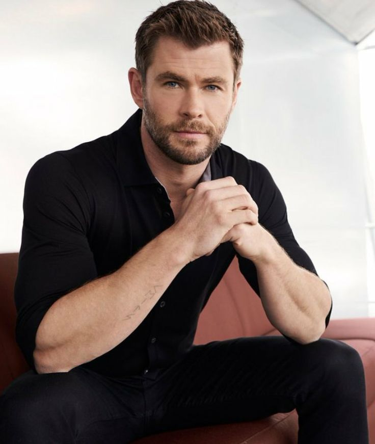 Chris Hemsworth for Hugo Boss.
