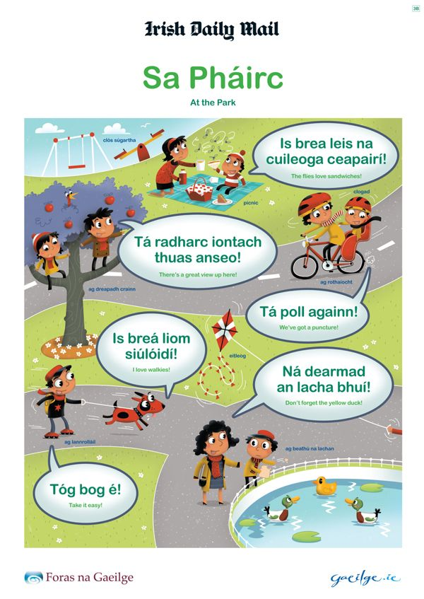 Irish Language Posters