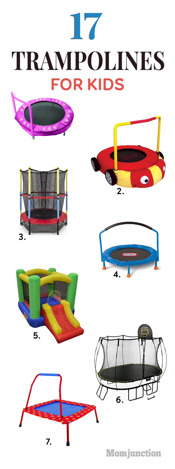 Isn't it a pleasure to see kids play, bounce, and run around the house? Why not get them a trampoline? Here's our list of the best trampolines for kids.