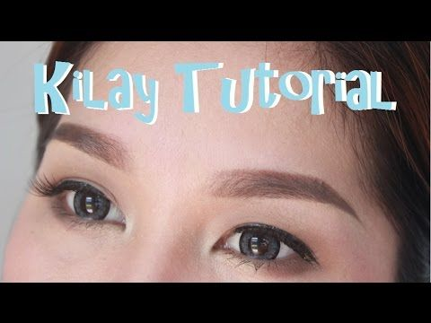 kilay tutorial in 2 minutes  youtube  tutorial basic