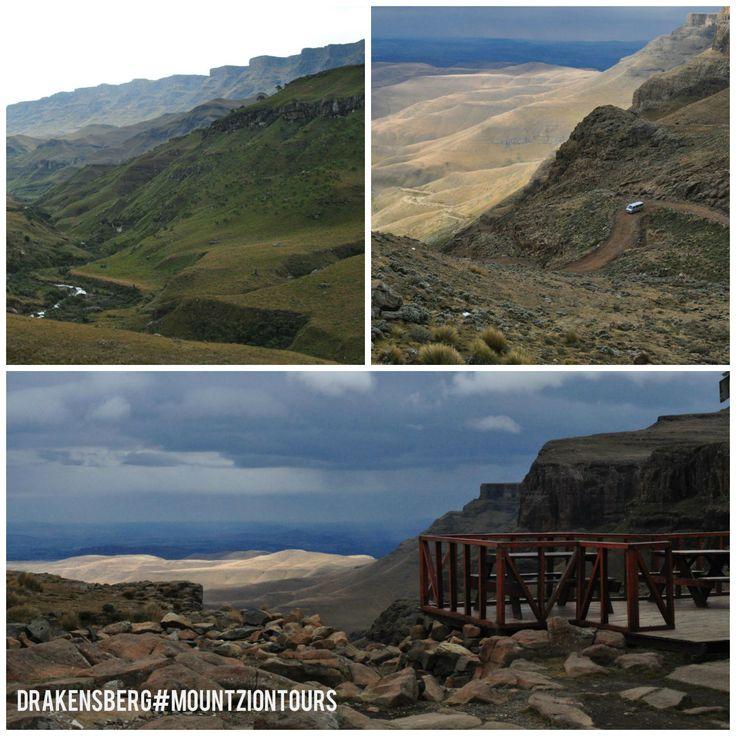 The beauty of Drakensberg Mountains