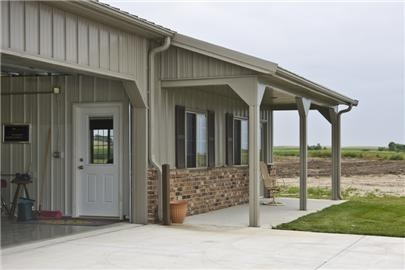 95 best images about garage on pinterest porticos metal for Brick garages prices