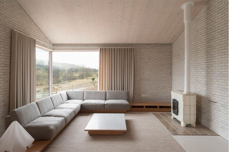 offering visitors to holiday in the 'life house', the cascading scheme unfolds as a place of calm and solace - influenced by japanese design.