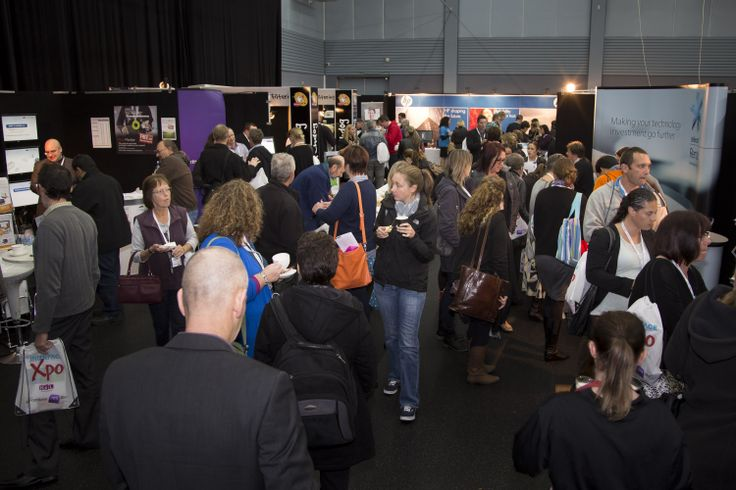 Delegates at INTERFACE Xpo in Taupo.
