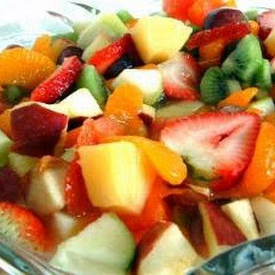 Spiked Fruit Salad Recipe - Key Ingredient