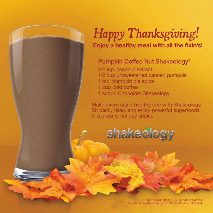 ... # thanksgiving # shakeology # pumpkin # coffee # health # shake
