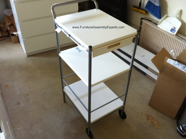 ikea bygel utility cart assembled in arlington va by furniture assembly experts llc ikea. Black Bedroom Furniture Sets. Home Design Ideas
