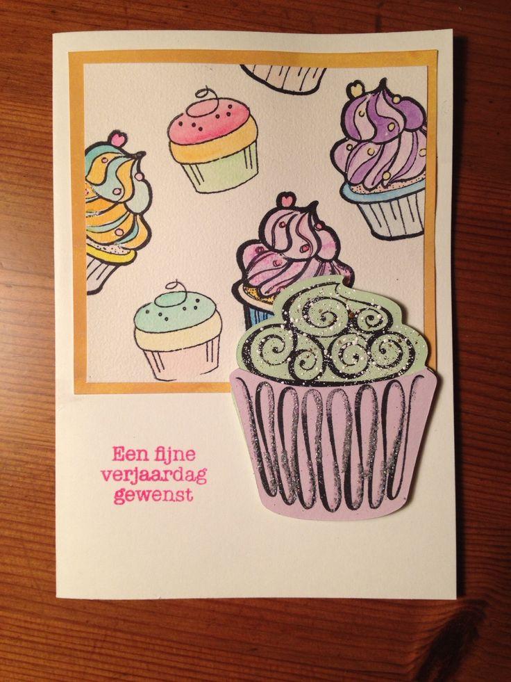Een fijne verjaardag met cupcakes