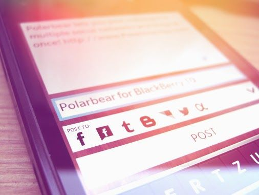 Polarbear lets you post messages to Twitter, Facebook, Facebook Pages,  Blogger, Tumblr, LinkedIn and App.net at once!  Get a beta invite! http://www.PolarbearApp.com/ #app #productivity