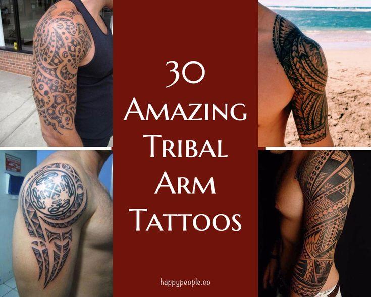 30 Amazing Tribal Arm Tattoos