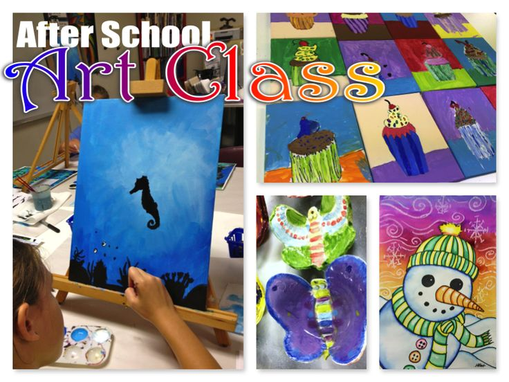 After School Art – Art Club Projects 2014-2015
