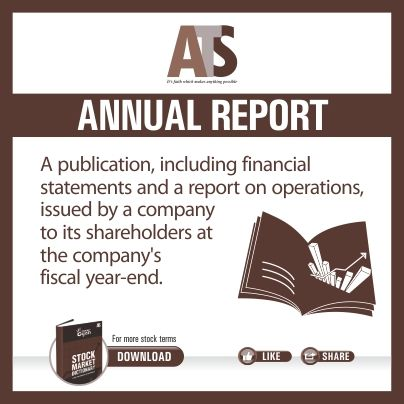 ATS Share Market Dictionary  Term of the day  To download click the link & select ebook: http://goo.gl/Z3KY9h #stockmarket For More: https://www.facebook.com/atsinvestments