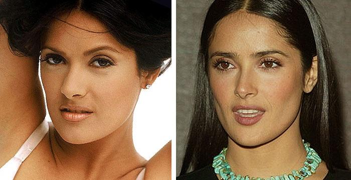 salma-hayek perfect new nose!