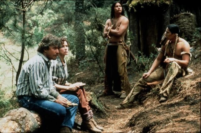 """Tom Berenger in a scene from """"The Last of the Dogmen"""""""