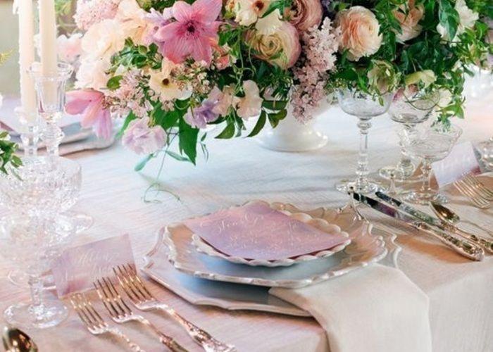 絶対に可愛い!marry編集部が選ぶ『真似したいテーブルコーディネートデザイン』10選♡のトップ画像