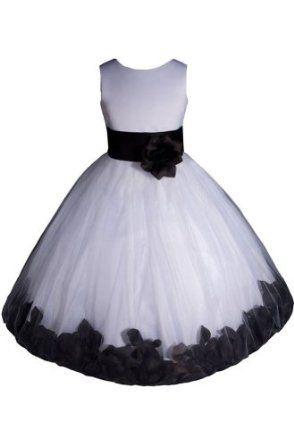 Best 25  Black flower girl dresses ideas on Pinterest | Flower ...