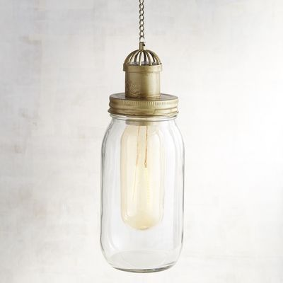 Led Solar Gl Hanging Jar Light