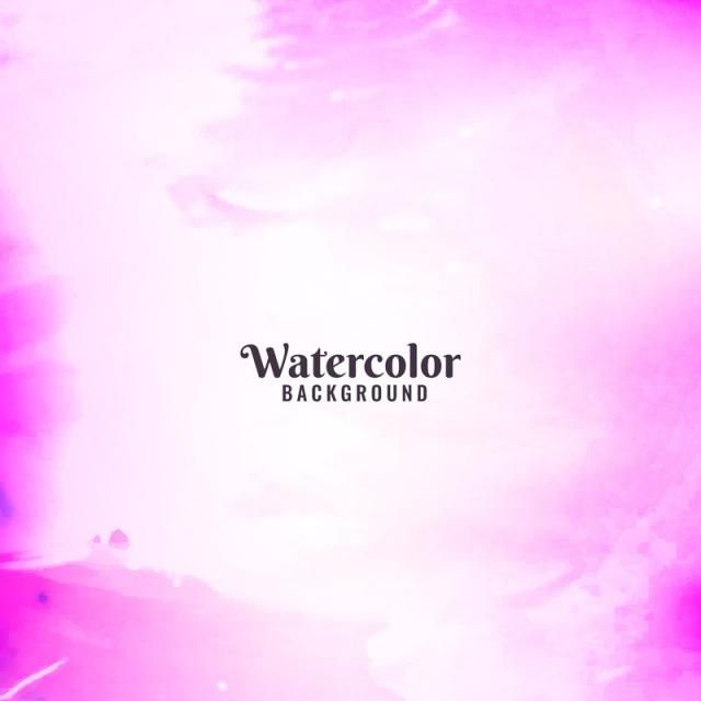 Abstract Pink Watercolor Design Background Abstract Background
