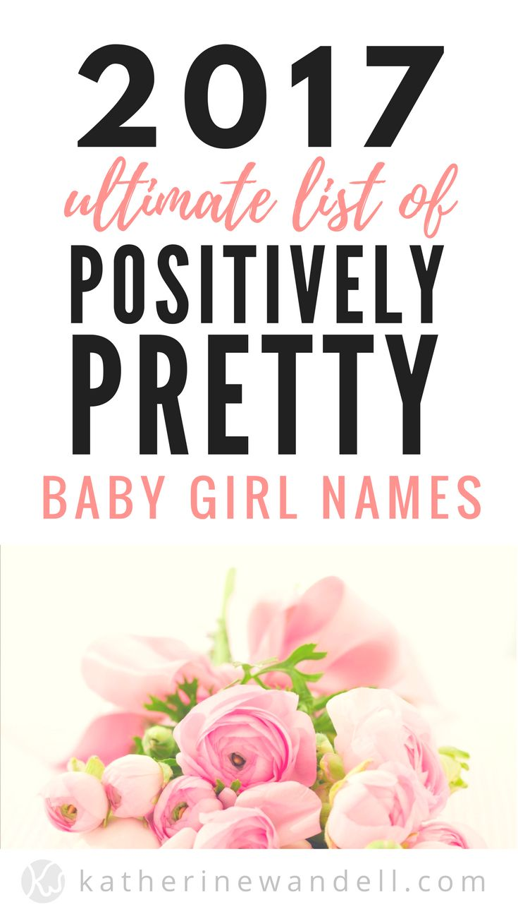 A-Z List of baby girl names that are unique. Each name in this list has a pretty and positive meaning. If you are looking for something different but still sounds sweet, sassy and feminine, check out this list.