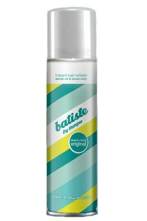 Batiste Dry Shampoo. I've been testing out different brands of dry shampoo all summer. I really like the smell of this one but, it seemed I needed a LOT of it for it to work. They also make a hint of blonde/brown dry shampoo which I did NOT like.