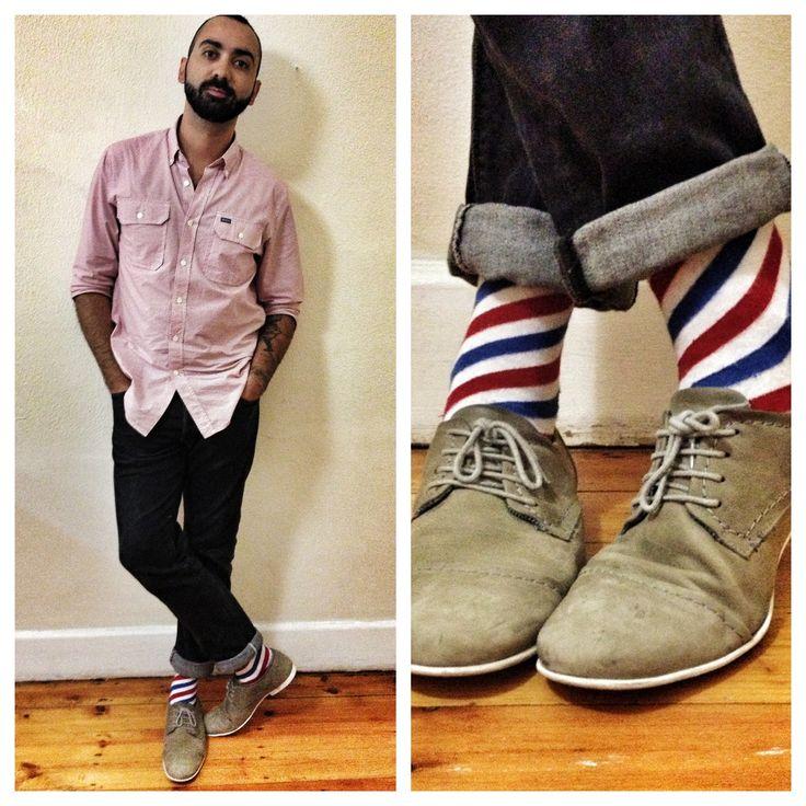 RVCA shirt and a rocking pair of NicSocks.   #socks #sock #sockporn #sockgame #socksoftheday #sockswag #sockwars #nicsocks #instafeet #instasocks #menswear #mensfashion #shoes #shoesoftheday #shoestagram #shoeswag #outfit #outfitoftheday #outfits