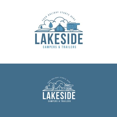 Logo LAKESIDE. We hire/rent camper trailers & caravans to people generally 30-50 years old with young children. This can be for weekends away to extended travel around Australia.