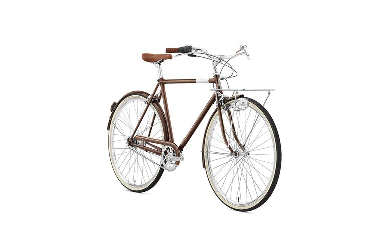 Creme CafeRacer Solo Men's Bike - Brown