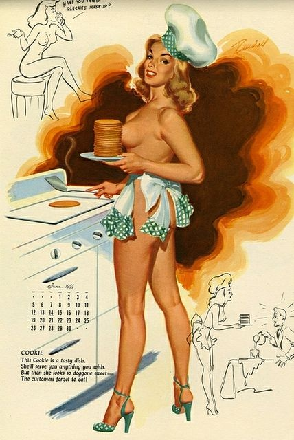 Calendar Art Models : Best pinups in the kitchen images on pinterest pin