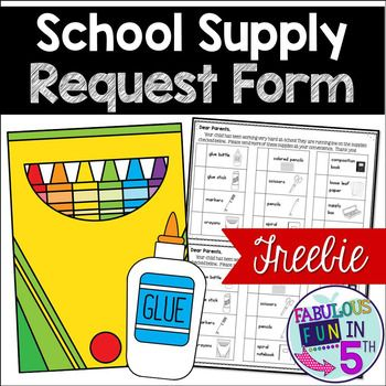 8 best daycare images on Pinterest Daycare daily sheets, Daycare - supply request form