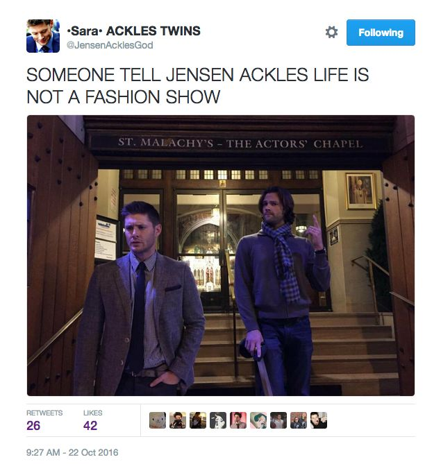 Male Modelin' Son of a Bitch Jensen Ackles