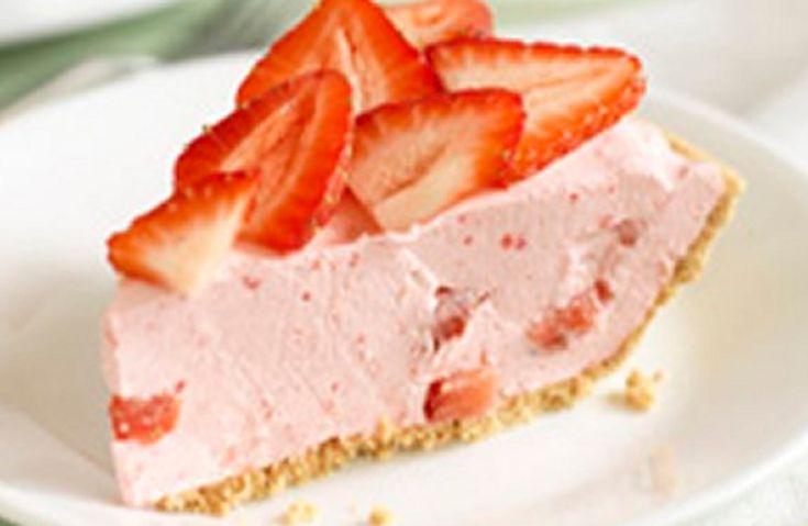 Recette : Tarte aux fraises et au Jello.