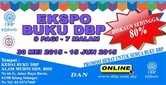 30 May-15 Jun 2015: DBP Book Expo