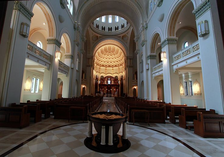 The sanctuary at Sisters of St. Benedict monastery in Ferdinand, Indiana.