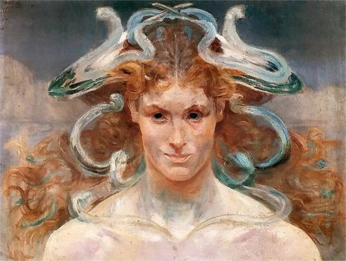 Jacek Malczewski - Medusa  1901