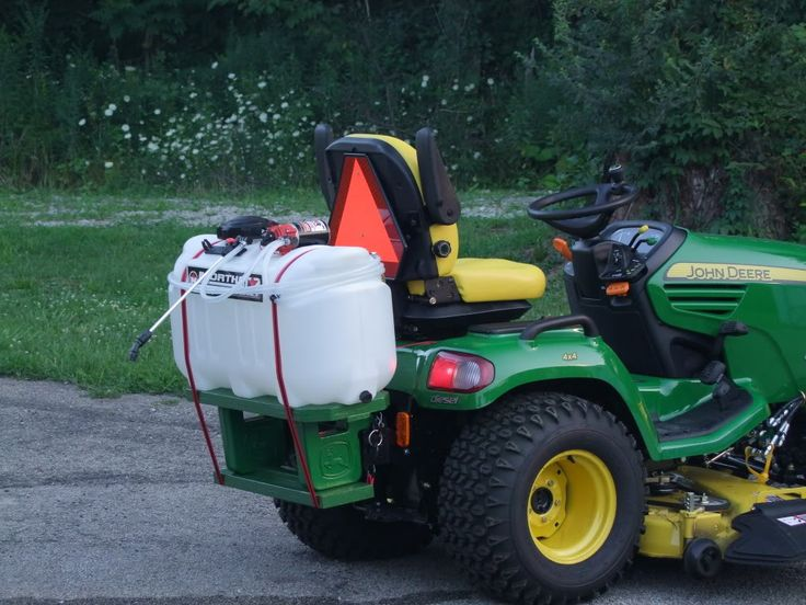 Image Result For Making My Lawn Tractor A Farm Sprayer
