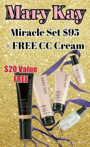 TimeWise Miracle set w/ a FREE foundation