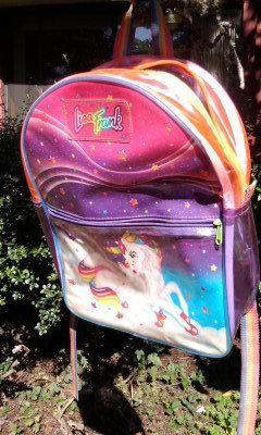 Rare Lisa Frank Markie Unicorn Backpack by SylviaJulie on Etsy, $110.00