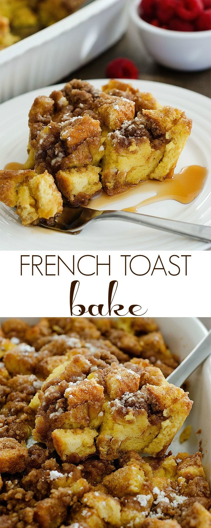 I've made the same Christmas morning breakfast for the past 10 years. Mom's Breakfast Bake and our favorite Cinnamon Rolls. My family loves it and I do too, but I thought it was time to change things up this year!  That being said, let me introduce to you FRENCH TOAST BAKE aka. the most wonderful... Read More »