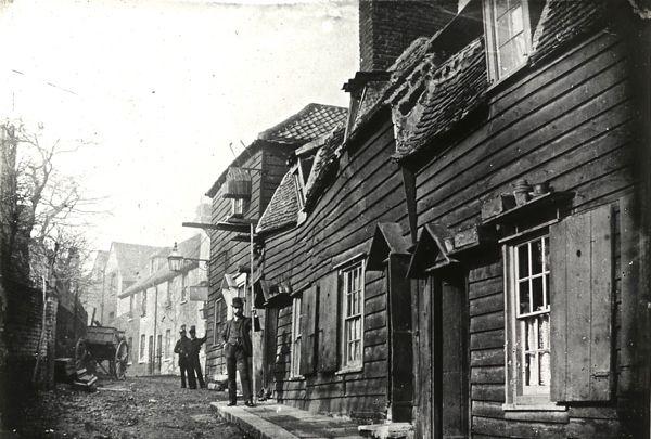 Strand Yard, Highgate, 1900