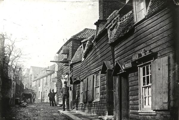 Strand Yard, Highgate, 1900 [ London UK ]
