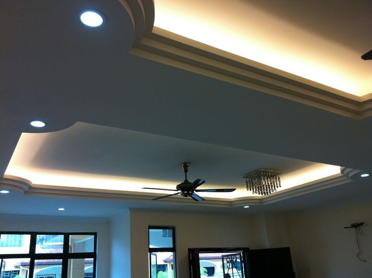 Exquisite amusing ceiling lighting for living room designs for Room decor led lights