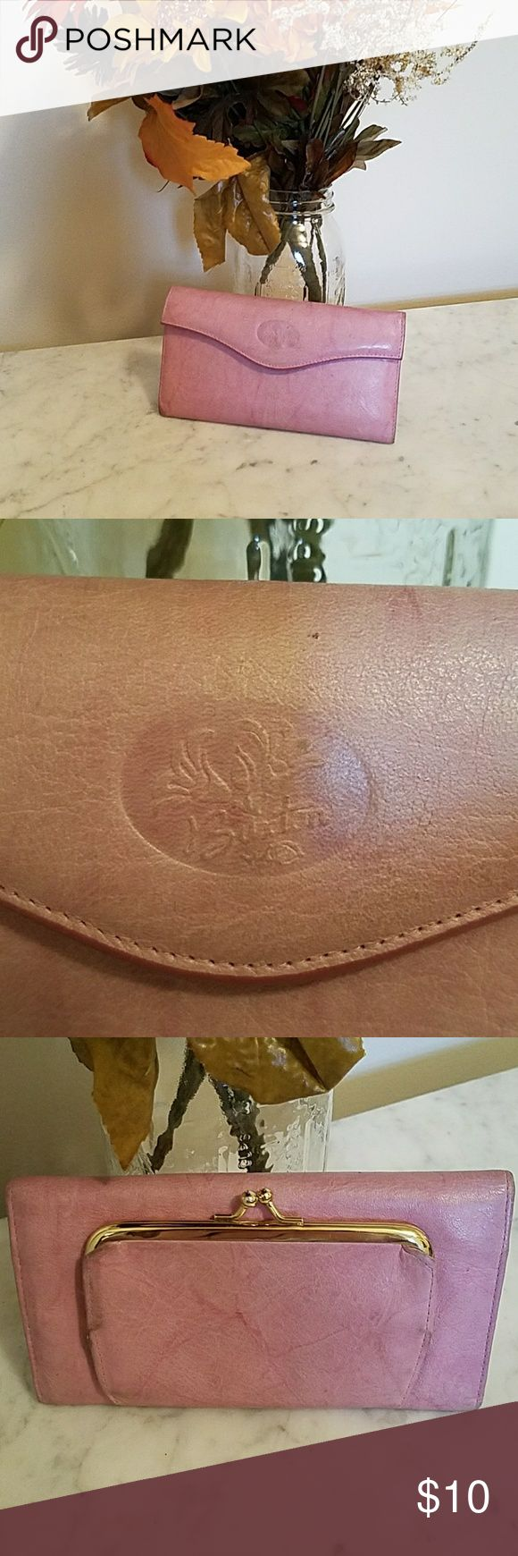 Buxton Wallet This Buxton wallet is made of cowhide. It has been well loved! Open to offers! Buxton Bags Wallets