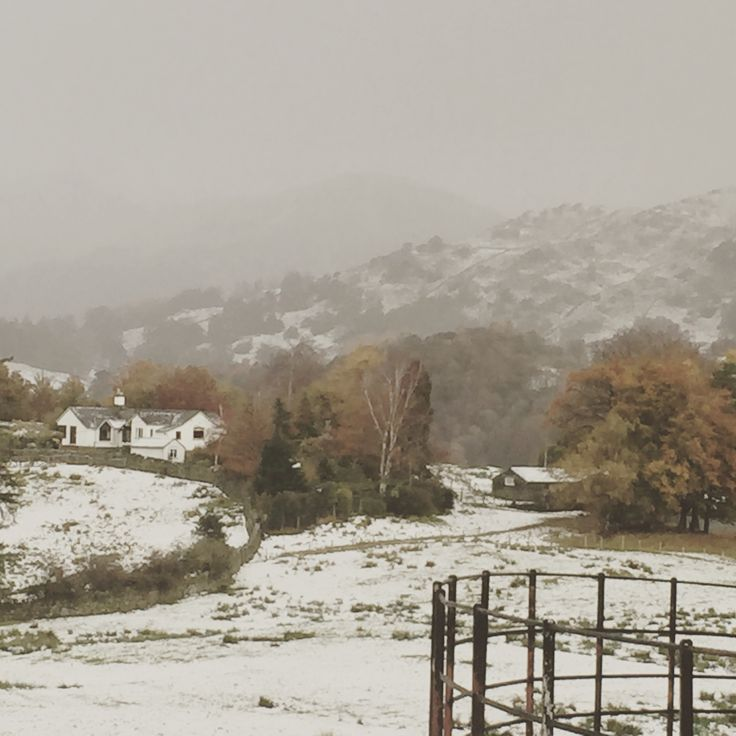 Another winter view from Skelwith Bridge,Cumbria x