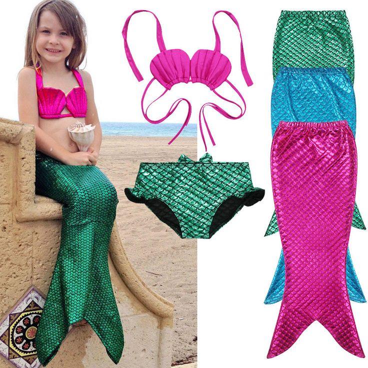 安い3ピース女の子子供マーメイドテールswimmable水着水着女の子ビキニセット水着ファンシー衣装3 9yサイズ100 150、購入品質子供の ツーピース スーツ、直接中国のサプライヤーから:説明説明100%真新しいおよび高品質夏子供女の子マーメイド水着衣装ファッションデザインかわいいtシャツサイズ: 3-9年色:映像ショーとして素材:スパンデックス金メッキこの水着衣装セットはスーパー値!でそれの漫画マーメイドデザイン、金メッキ