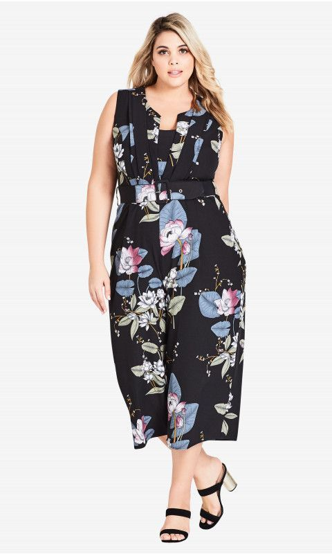 eb177f0600c70 Shop Women s Plus Size Blossom Jumpsuit - Clothing