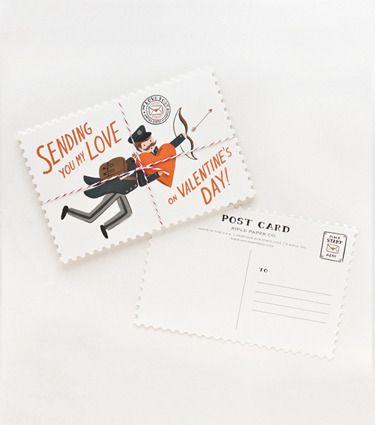 Valentine's Day Postcards #luvocracy #GiftsofLuv