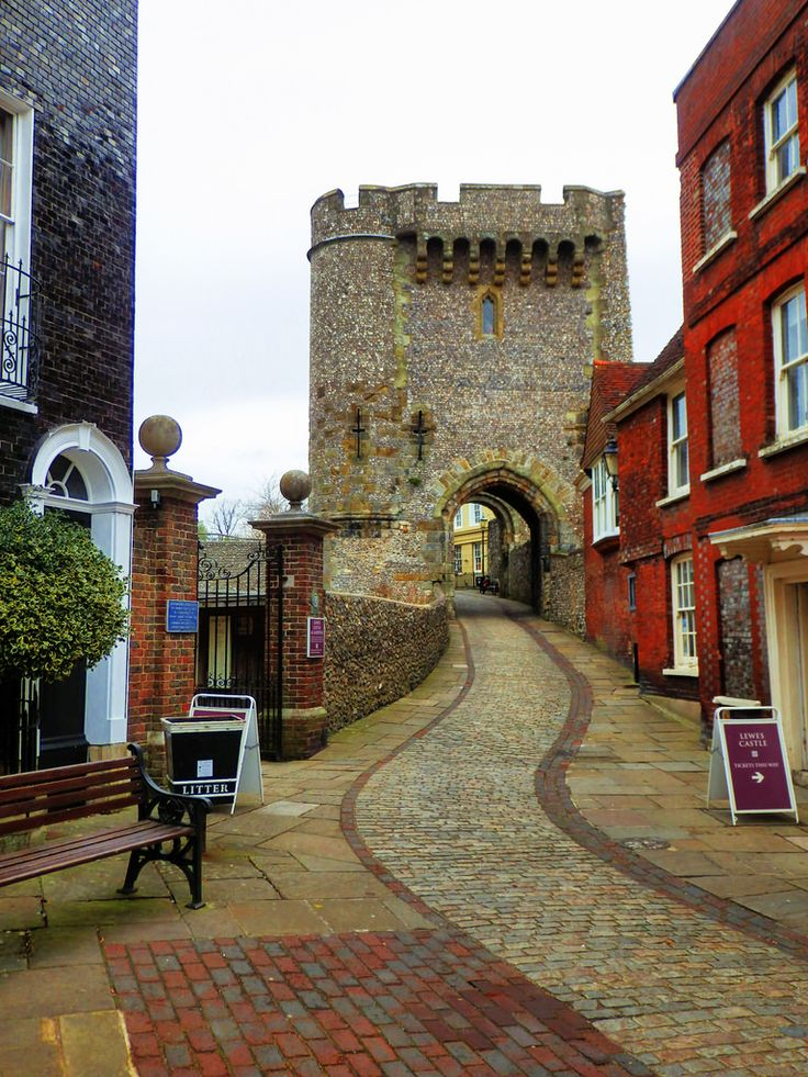 Lewes Castle, East Sussex, England
