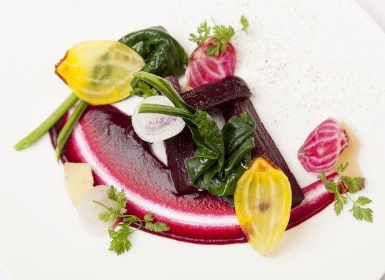Daniel Galmiche - Beetroot with pickled quince