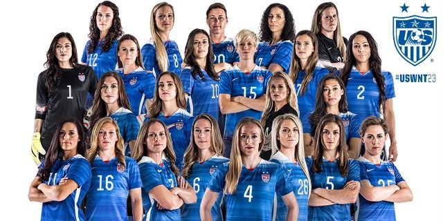 """USA won the 2015 Women's World Cup, in soccer. Enjoy LL Cool J's classic video/song, """"Momma Said Knock You Out""""."""