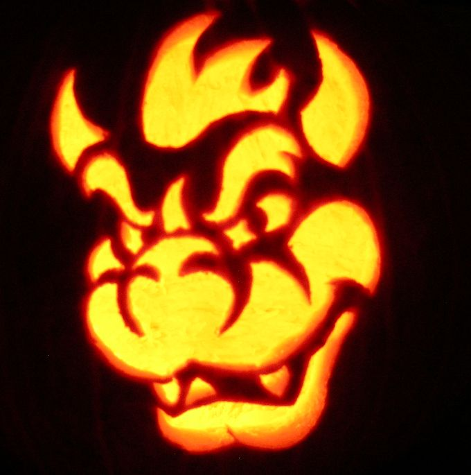 10 best images about bowser costume on pinterest mario Awesome pumpkin drawings